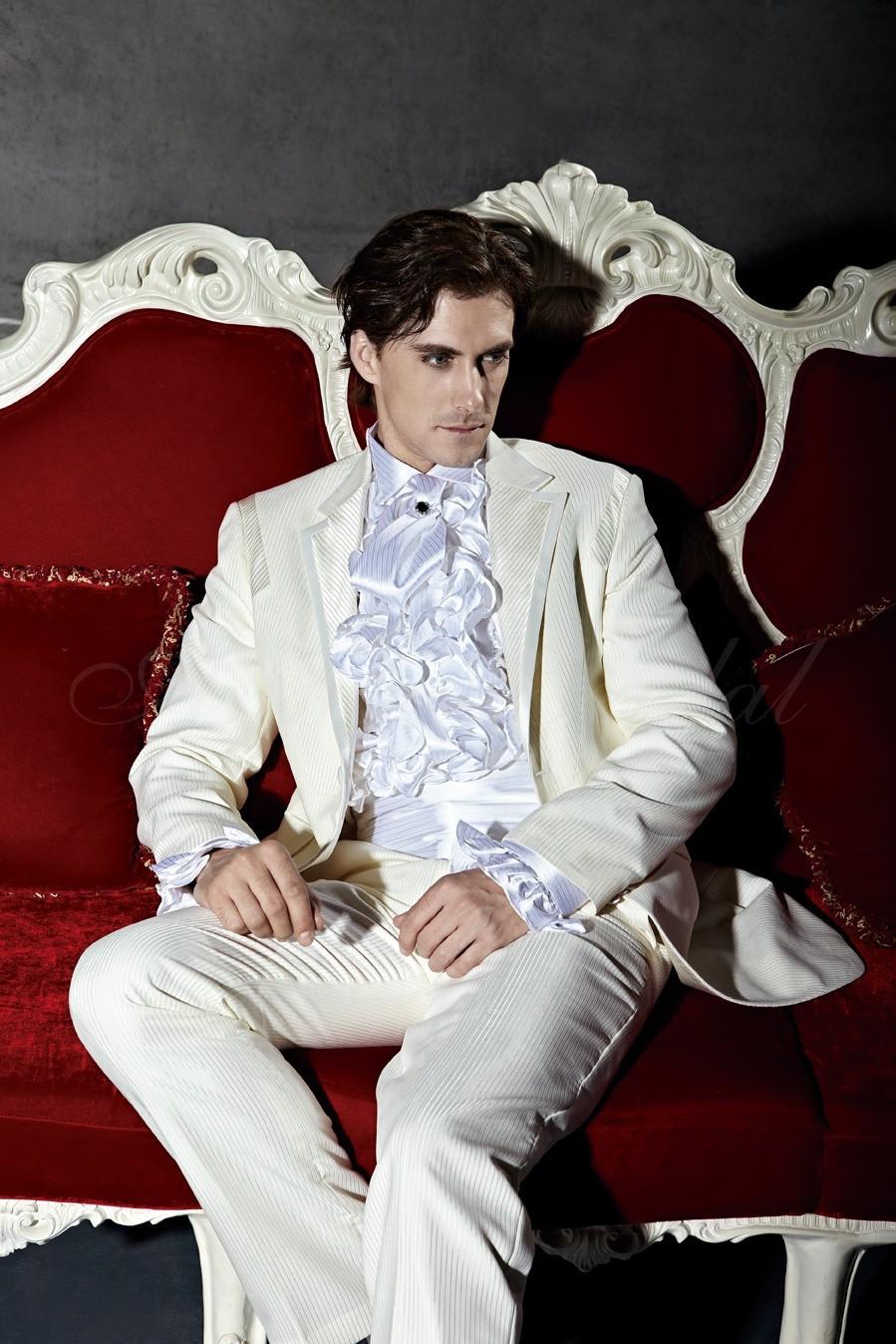 New 2013 free shipping white tuxedo free bow  tie free  vest    tuxedos mens wedding suit No.03092
