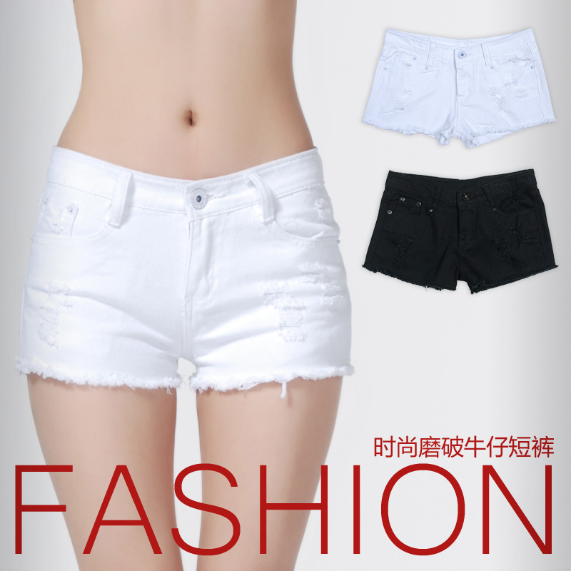 New Arrival 2013 Summer Fashion Women's  Denim Jeans Shorts All-match Casual Shorts Hot Pants