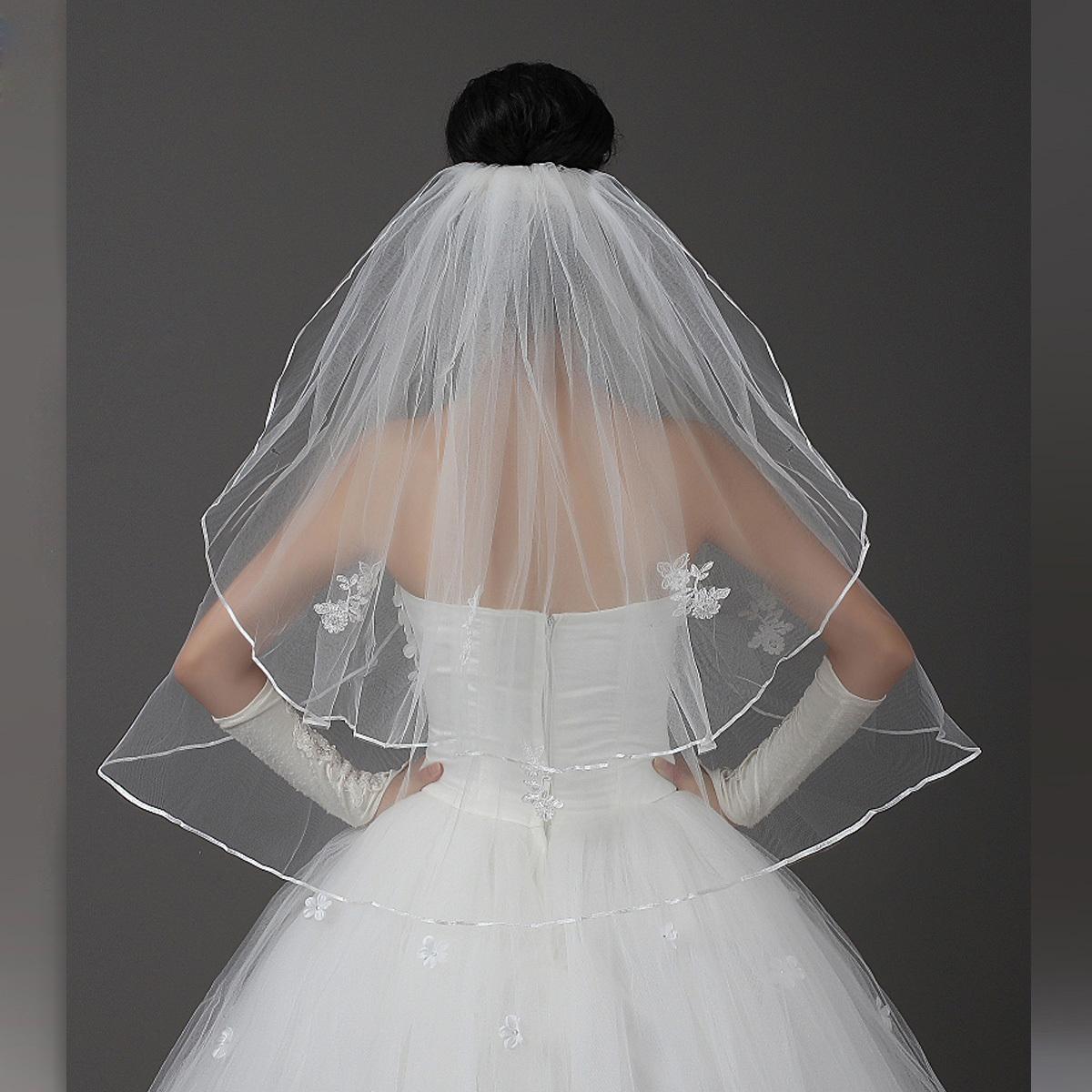 Сделать фату для венчания своими руками