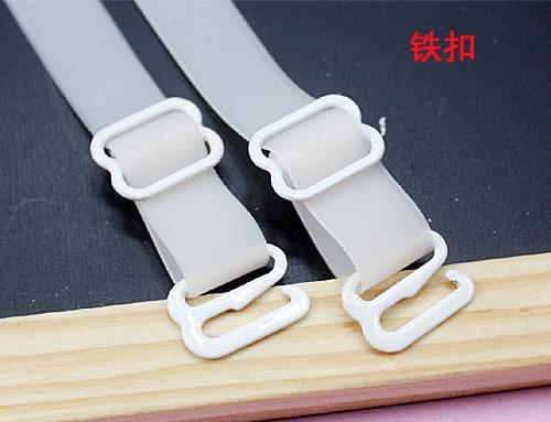 New arrival advanced slip-resistant 1cm silica gel shoulder strap double-shoulder underwear belt metal hook