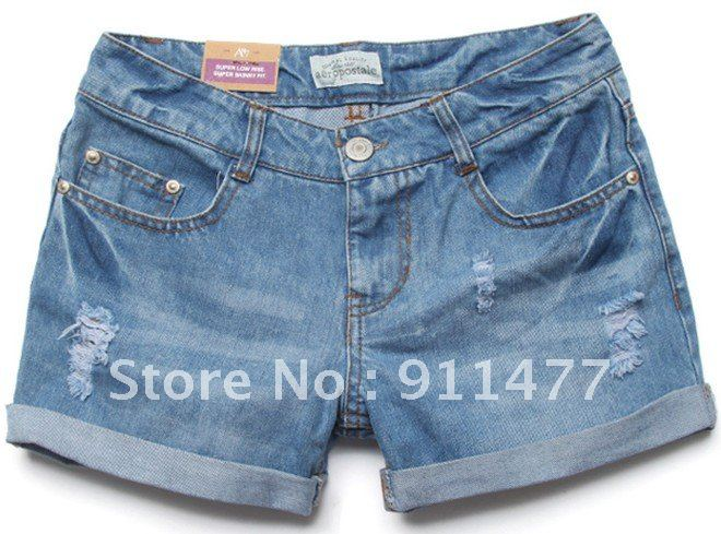 New Arrival Elegant ladies aeropostale Denim shorts jeans shorts casual jeans
