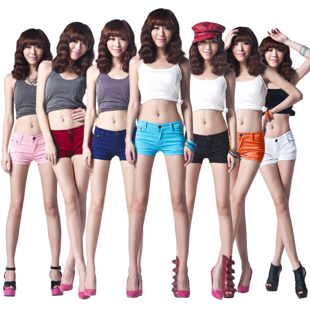 New arrival !  fashion Colorful Candy Pencil short Pant/Hot Pant