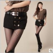 New arrival Free shipping Wholesale Korean 2012 new arrival fashion Double breasted poncho shorts women pants with belt