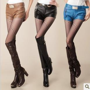 New arrival Free shipping Wholesale price Korean 2012 PU leather ladies shorts Hot Trousers for women