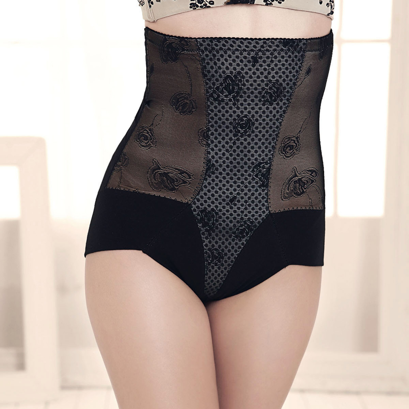 New arrival postpartum abdomen pants drawing corset body shaping pants s0813