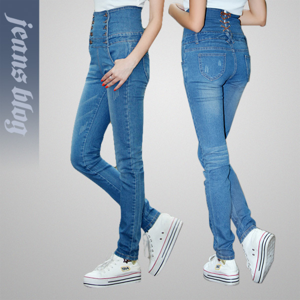 New Arrival Vintage Ladies Short Denim Jeans Simple  Solid Jeans Free Shipping3012