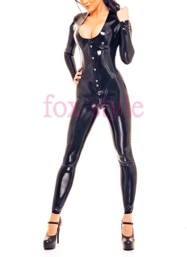 New Arrivals rubber latex straitjacket  leotard tights
