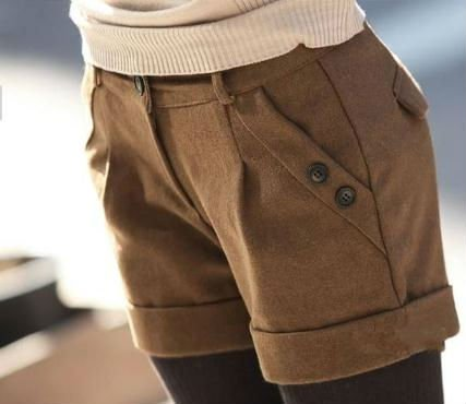 New Autumn Slim Woollen Shorts,Fashion Style Pants,Fit many Way,Free Shipping