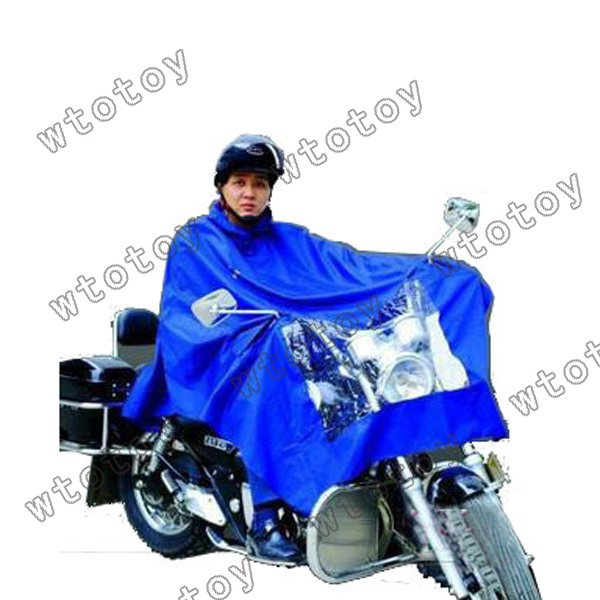 New Convenient Motorcycle Rain Hooded Riders Raincoat Waterproof 12949