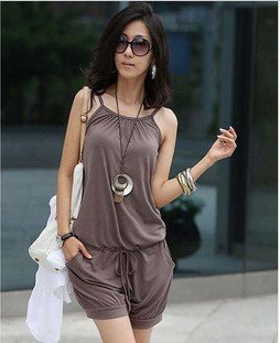 NEW excellent quality, fashion sweet design popular hot selling ladies jumpsuits skirt