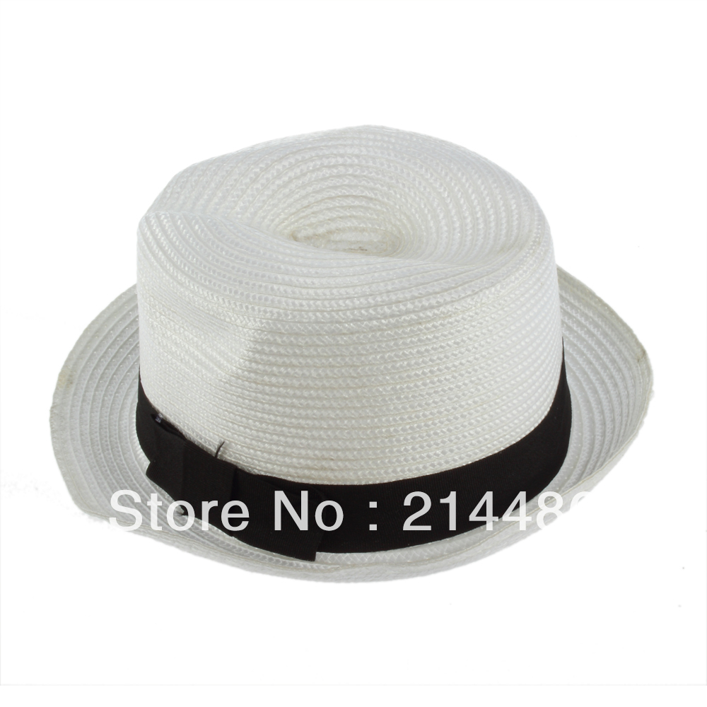 New Fashion Unisex Fedora Trilby Gangster Cap Summer Beach Sun Straw Panama Hat Hot Selling