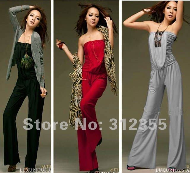 New fashion women's casual jumpsuit,lady's Conjoined Twins trousers, women sexy off shoulder jumpsuits long pants AK22