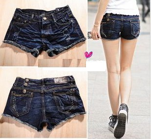new Lady denim shorts,women's jeans shorts,hot sale ladies' denim short pants