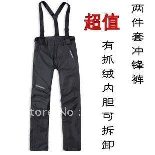 new Leopard grain women's Outdoor sport pants ladies Waterproof breathable windproof climbing Jumpsuits & Rompers Brand sales