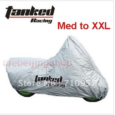 New Motorcycle Cover waterproof Rain Cover UV Protective tanked racing