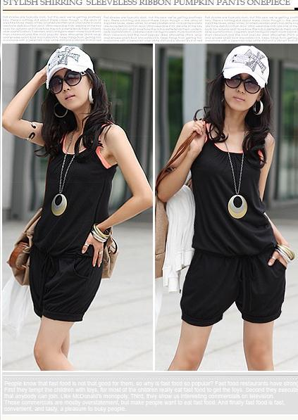 New spring 2013 korean edition dress fashion big yards of cultivate one's morality leisure vest harness culottes summer wear