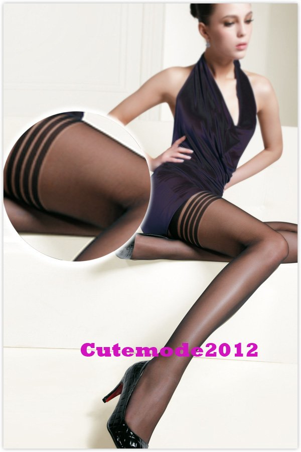 New Ultra Thin Women's Stockings Transparent Anti-skidding Pantyhose K08