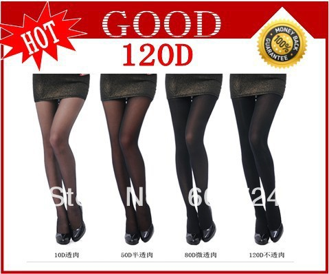 New Vintage Sexy Tights Leggings Pantyhose Velvet Stockings 120D good quality good quality