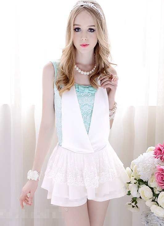 New Wholesale Korean 2012 Shorts women Jumpsuits&Rompers Women fashion casual summer  clothing Free shipping