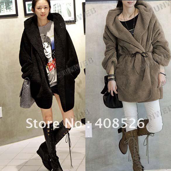 New Women Fashion Cardigan Hooded Hoodie Outerwear Down Jacket Coat free shipping 3500