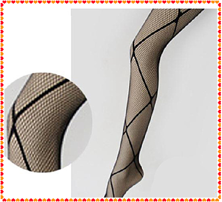New10pcs Fashion Sexy Black Fishnet Stocking Cross Net Tights Pantyhose  Hot Selling
