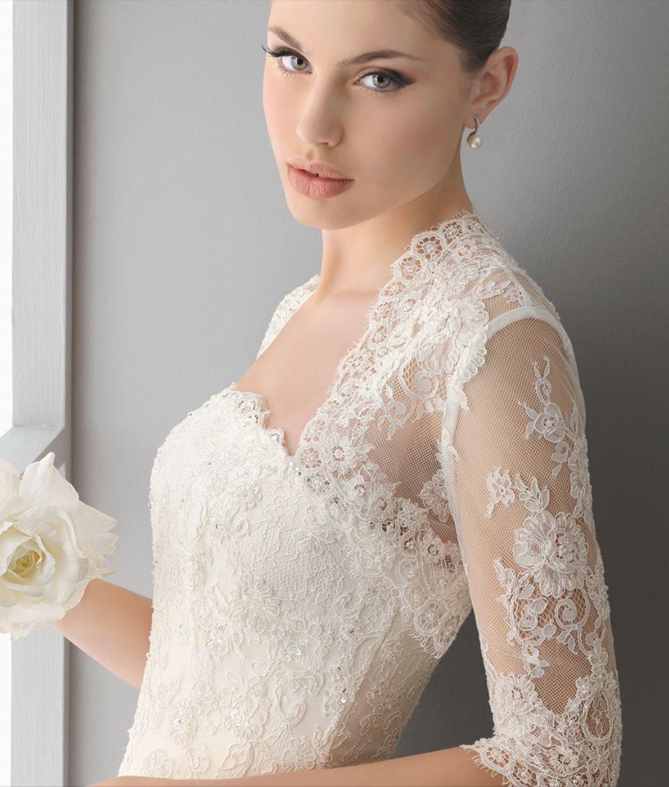 Newest Luxury donne 3/4 manica   Bridal Jackets Applique  giacca dasposa abito Boleroshrug magazzino cappotto