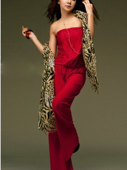 Newest women's backless rompers, red,pink black jumpsuit,free shipping, free size rompersA02-6232 accept drop-shipping  305-8856