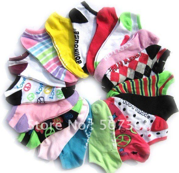 Nice free shipping Adult men and women ship sox/foreign trade socks/much super style/socks wholesale 20prs/lot