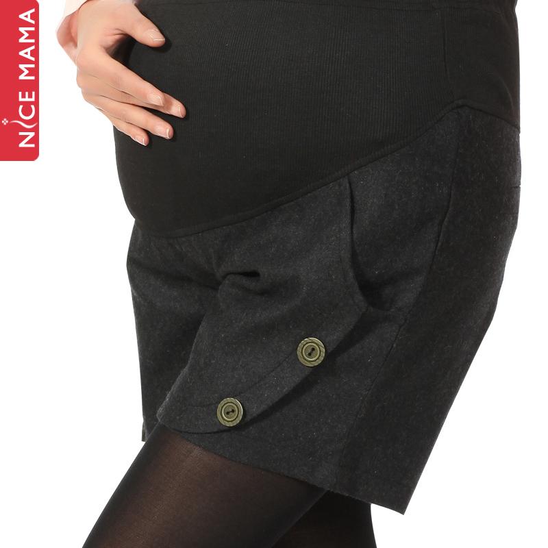 Nice mama maternity pants spring fashion maternity shorts maternity belly pants spring and autumn maternity pants