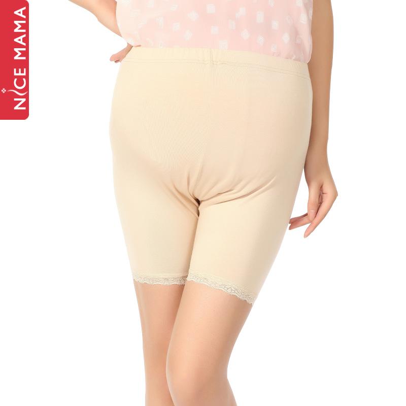 Nice mama maternity pants spring legging maternity shorts safety pants