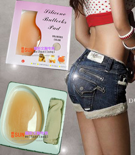 nude buttock Thickening silicone pad panties bottom pants silica gel thick abdomen drawing pad body shaping pants