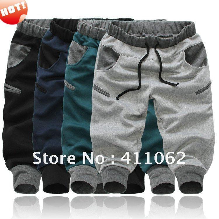 NWT Mens Womens Athletic Sporty Casual Baggy Harem Training Jogging Sport Lounge SweatPant Sweat Pants Slacks Free Shipping