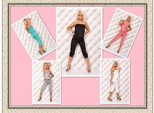 NWT Womens Fashion Jumpsuit Sexy Charming Casual Sleeveless One-price Clubwear