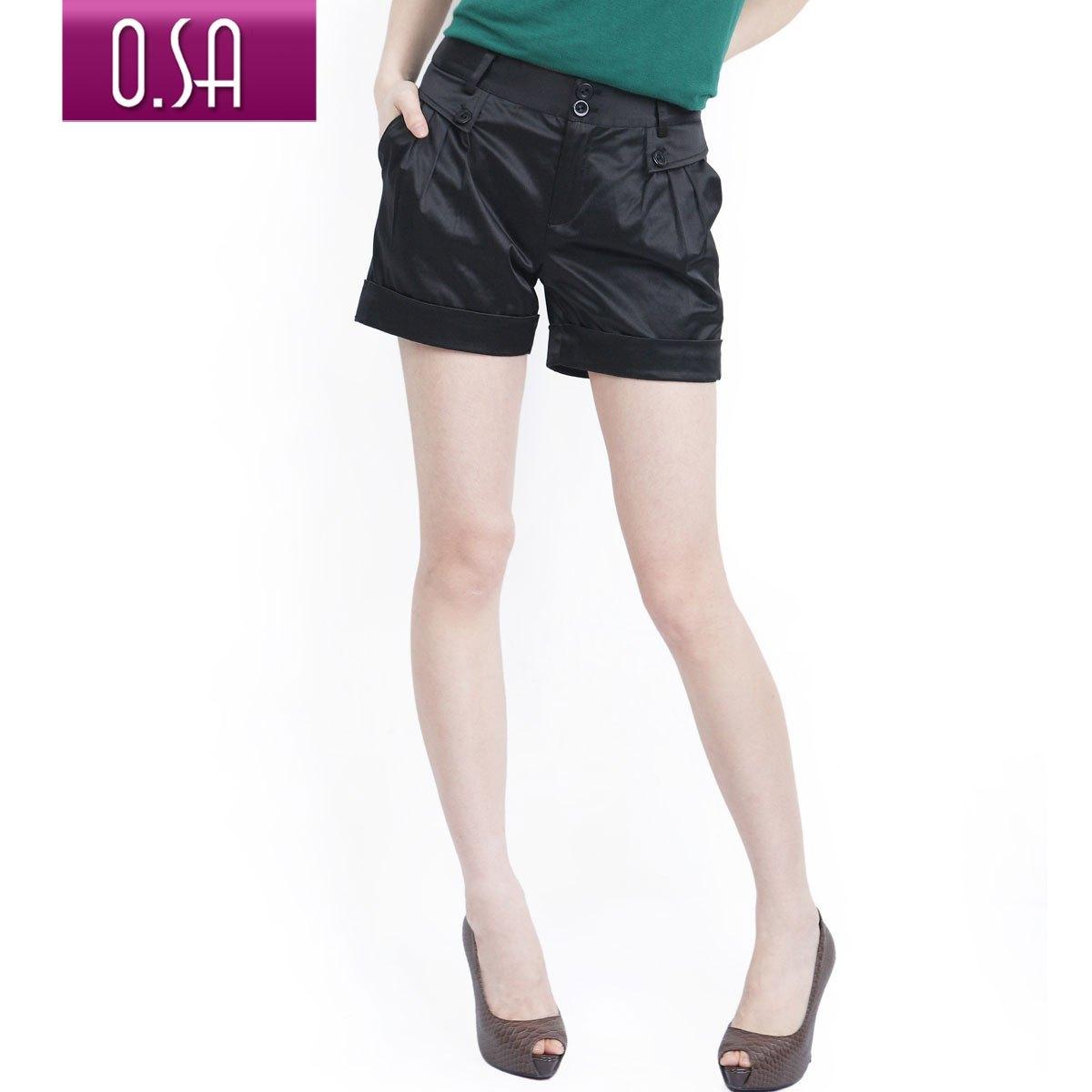 O.SA 2011 summer women's plus size loose casual summer shorts female k00209