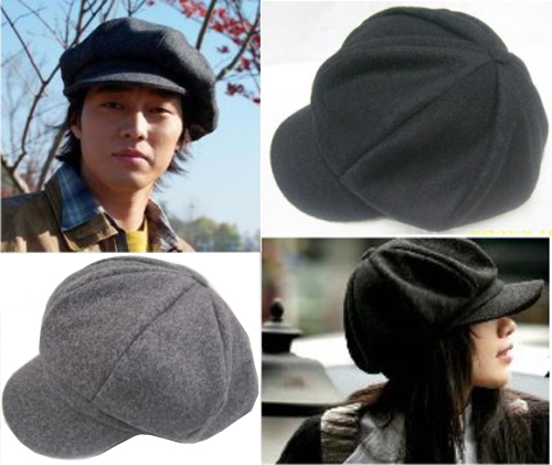 Octagonal cap fashion all-match general badian hat hot lovers hat
