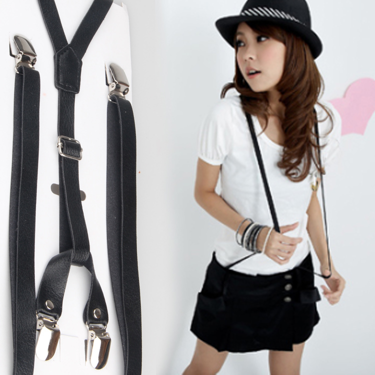 ON SALE 20% OFF PU male women's general suspenders women's suspenders accounting suspenders dress FREE SHIPPING