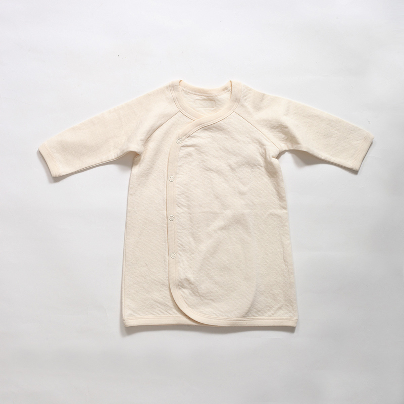 Organic cotton newborn robe monk clothes baby thickening 100% cotton sleepwear baby