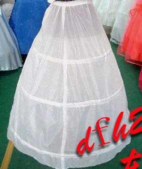 Oriental red wedding accessories 3 ring wire pannier wedding panniers dress yarn