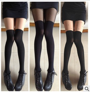Perfect splicing show thin false thigh stockings pantyhose silk stockings