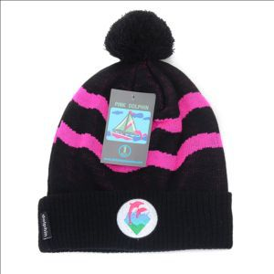 Pink Dolphin  Beanie Hats  Are Extremely Loved By People freeshipping Black pink !