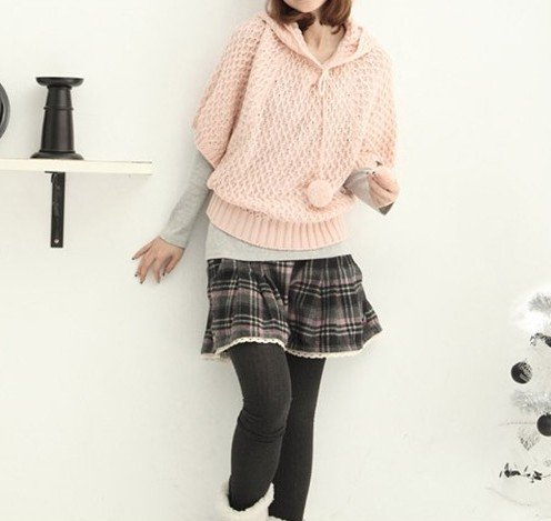Popular Casual Lace Lap Plaid Pantskirt  Free  Shipping  TQ12091414