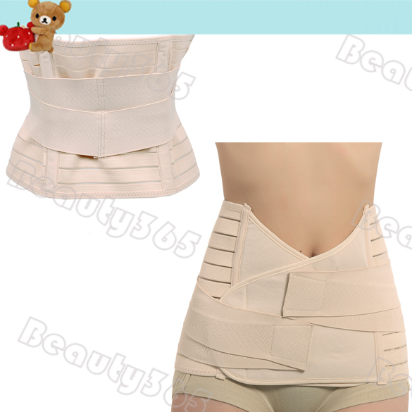 Post Partum Section!!! New Maternity Abdominal Binder Support Belt Belly Binder, Tummy Support Belt ,Body Form Fit  5898