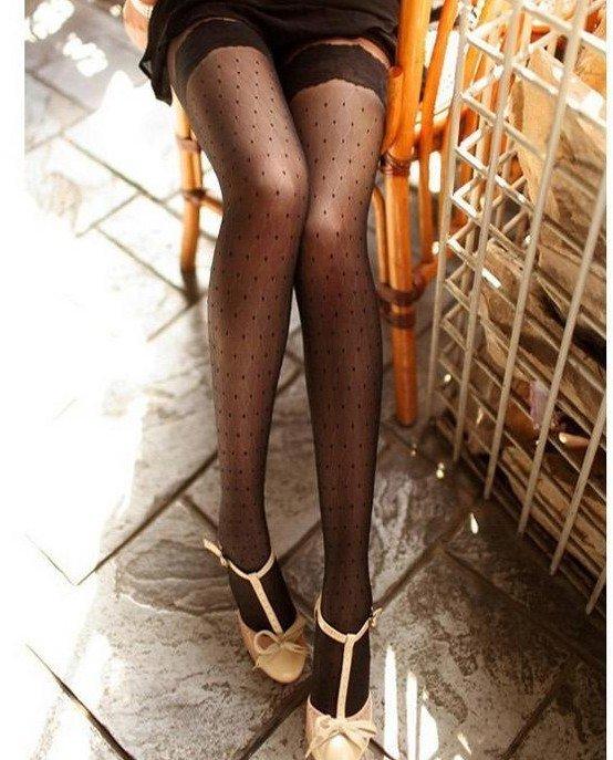 princess  thigh lace stockings /base socks