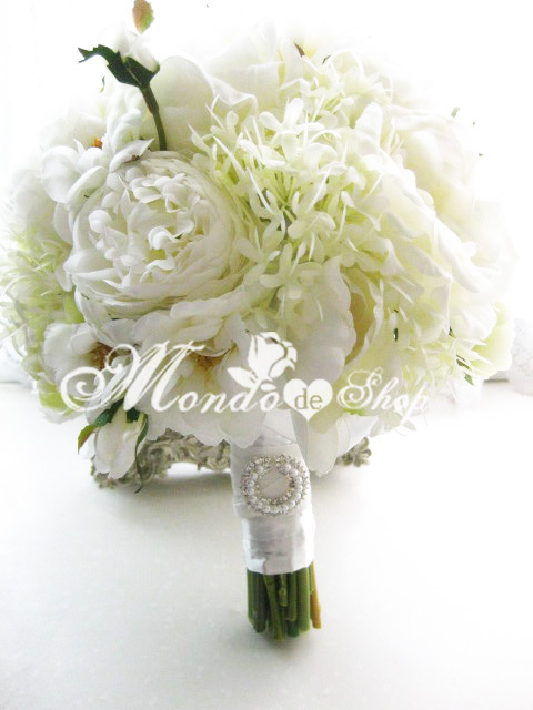Pure white Party Flower,wedding flower,handmade flower, Free shipping, Drop shipping, 2012 new style