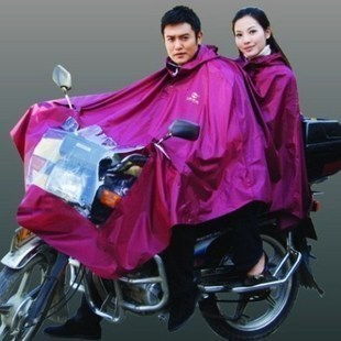 Raincoat poncho single double dual motorcycle electric bicycle poncho general