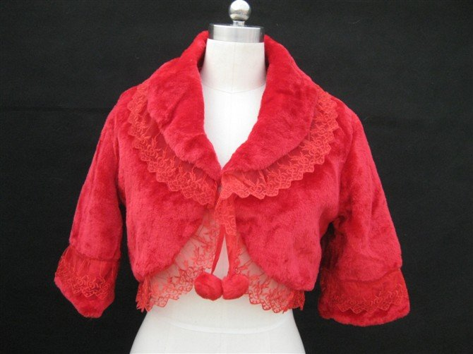 Red lace the bride wool shawls wedding dress accessories warm scarf