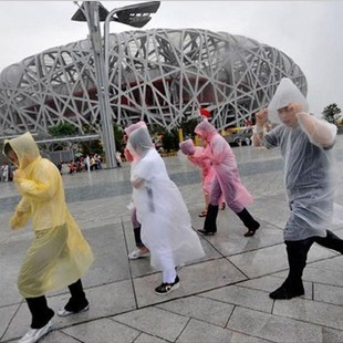 Ride travel outdoor general disposable raincoat poncho