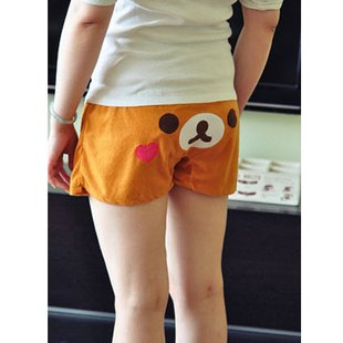 rilakkuma easily bear cute shorts and beach pants home shorts and pajama pants cartoon casual shorts