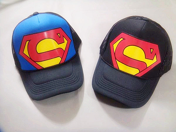 S super man lovers hat male women's general baseball mesh hat