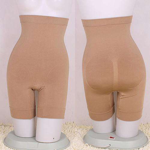 Seamless body shaping pants drawing butt-lifting abdomen pants plus size high waist beauty care pants panties 9910